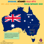 JOP 2032 - Brisbane (Australie) sera la ville hôte